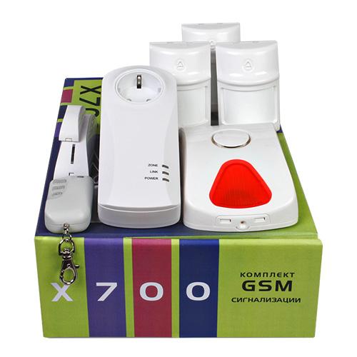 Комплект беспроводной gsm-сигнализации «X700»